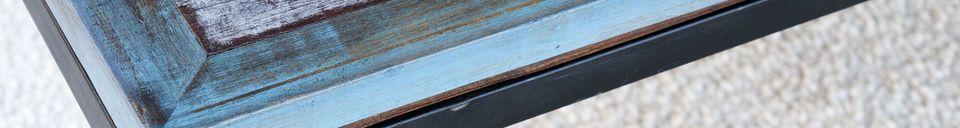 Benadrukte materialen Moriz salontafel