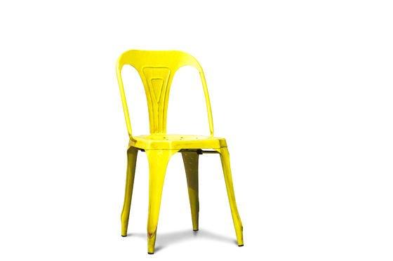 Multipl's stoel in antiek geel Productfoto