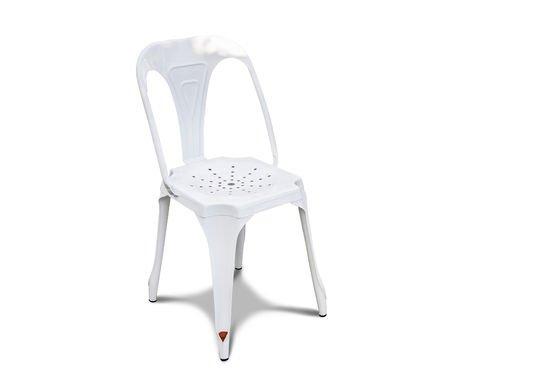 Multipl's stoel in het wit Productfoto