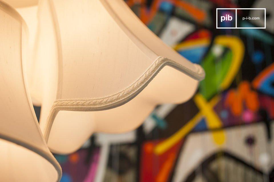 Acht lampenkappen voor een retro tintje, origineel en hip