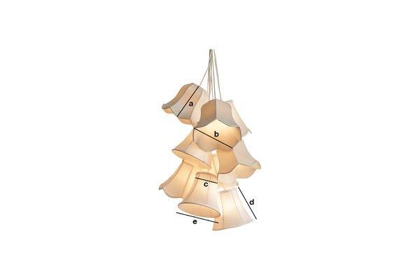 Productafmetingen Mümmi plafondlamp