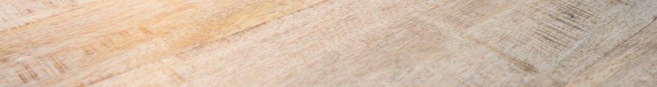 Benadrukte materialen Myrte salontafel