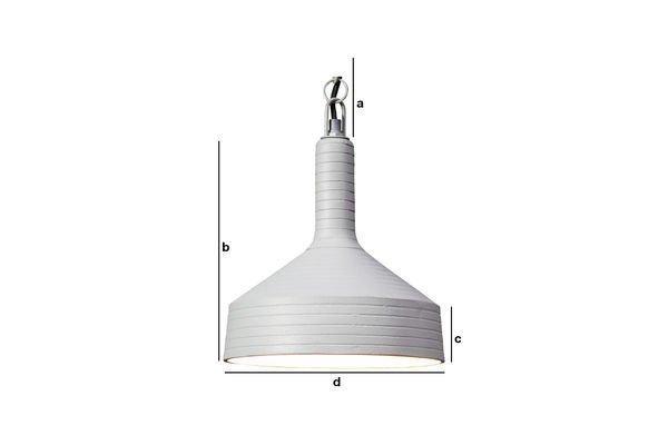 Productafmetingen Nadok hanglamp