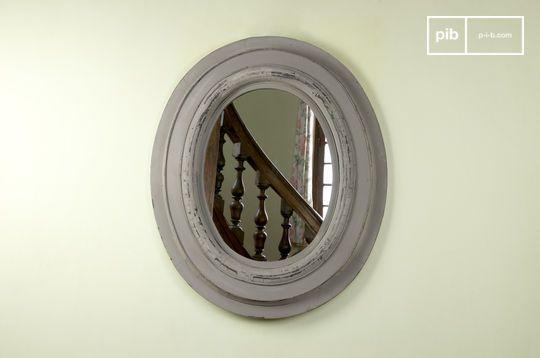 Napoleon houten spiegel