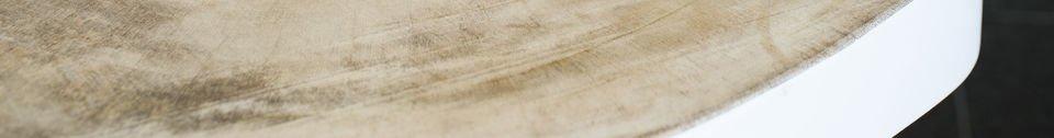 Benadrukte materialen Nederland salontafel