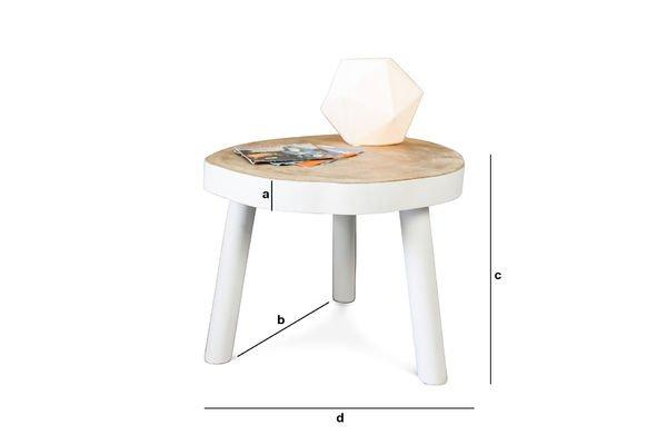 Productafmetingen Nederland salontafel