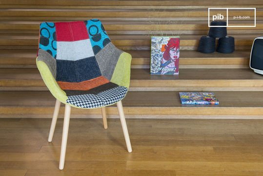 Neo Patchwork fauteuil