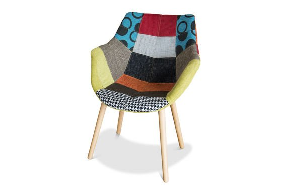 Neo Patchwork fauteuil Productfoto