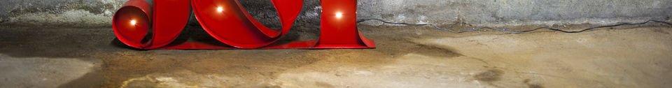 Benadrukte materialen Neon Joy bord