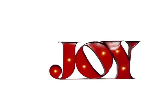 Neon Joy bord Productfoto