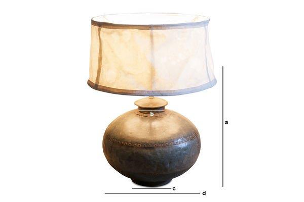 Productafmetingen Nessos tafellamp
