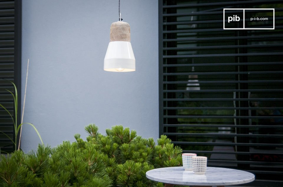 Newark-crèmekleurige Hanglamp