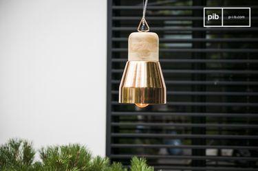 Newark koperen hanglamp