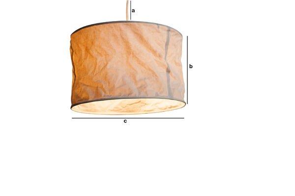 Productafmetingen Newport hanglamp