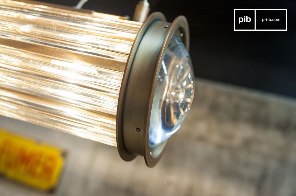 De Newton hanglamp is het hoogtepunt van de chique industriële stijl