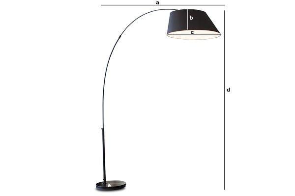 Productafmetingen Nexö vloerlamp