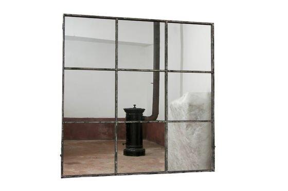 Nine-panel vierkante spiegel Productfoto