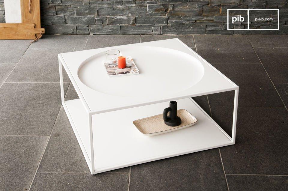 Robuuste tafel met een Scandinavische stijl