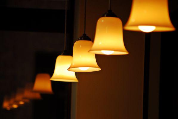 Nordische hanglampen gezellig warm licht
