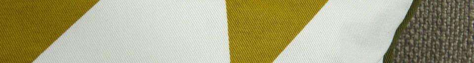 Benadrukte materialen Norway turmeric kussen