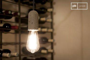 NUD-hanglamp van cement