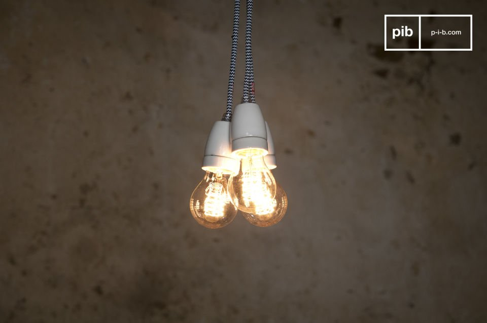 NUD porseleinen hanglamp