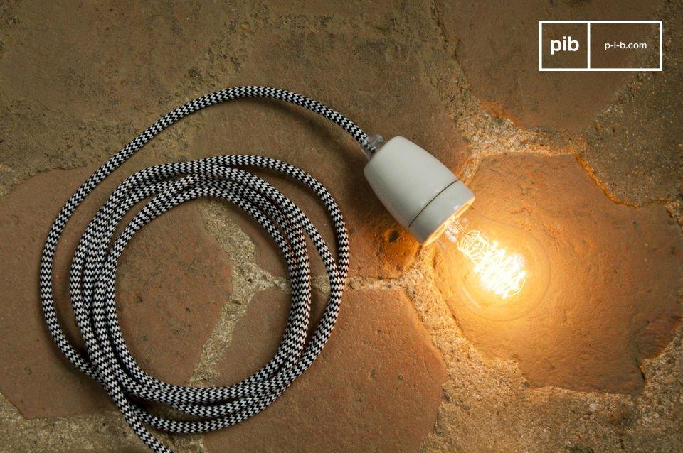 Vlecht drie lampen samen voor een ander origineel effect