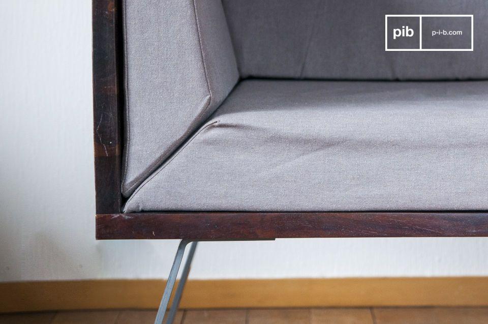 De Odeon lounge fauteuil brengt een vleugje vintage in uw woonkamer inrichting