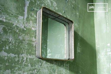 Olonne metalen spiegel