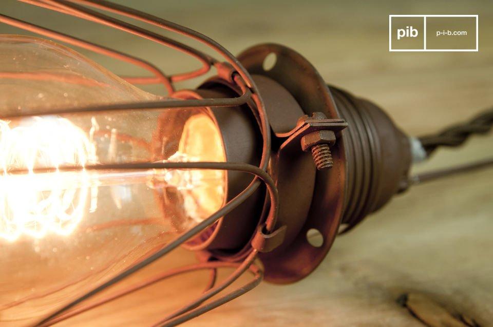 Vintage verlichting voor in een stoere keuken