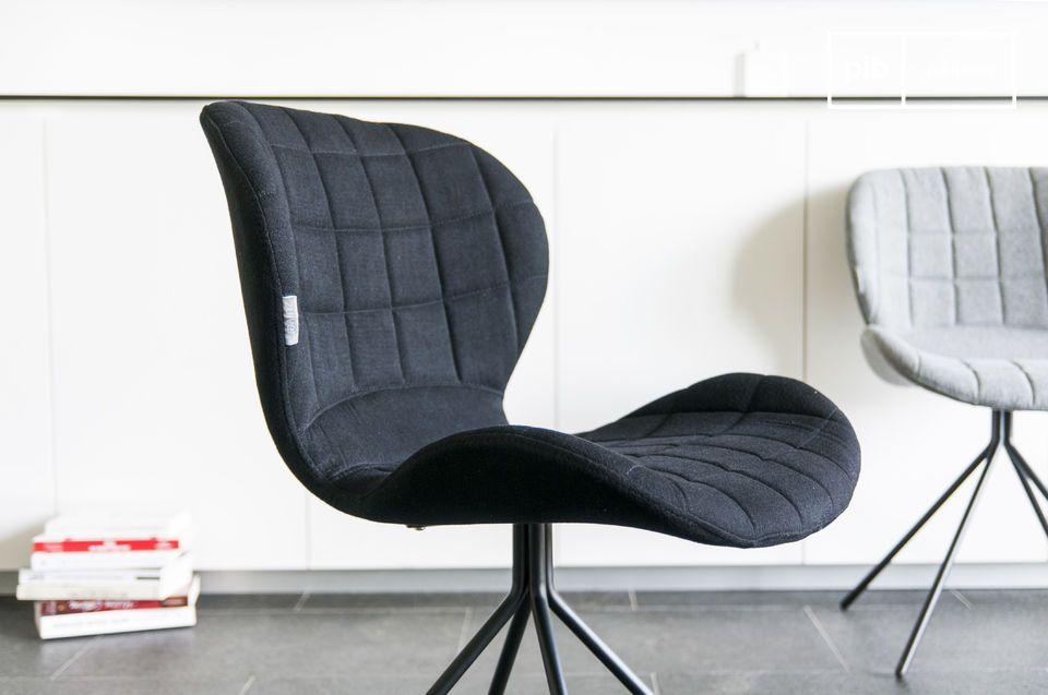 De OMG stoel is zeer comfortabel en daarom erg geschikt om urenlang op te zitten