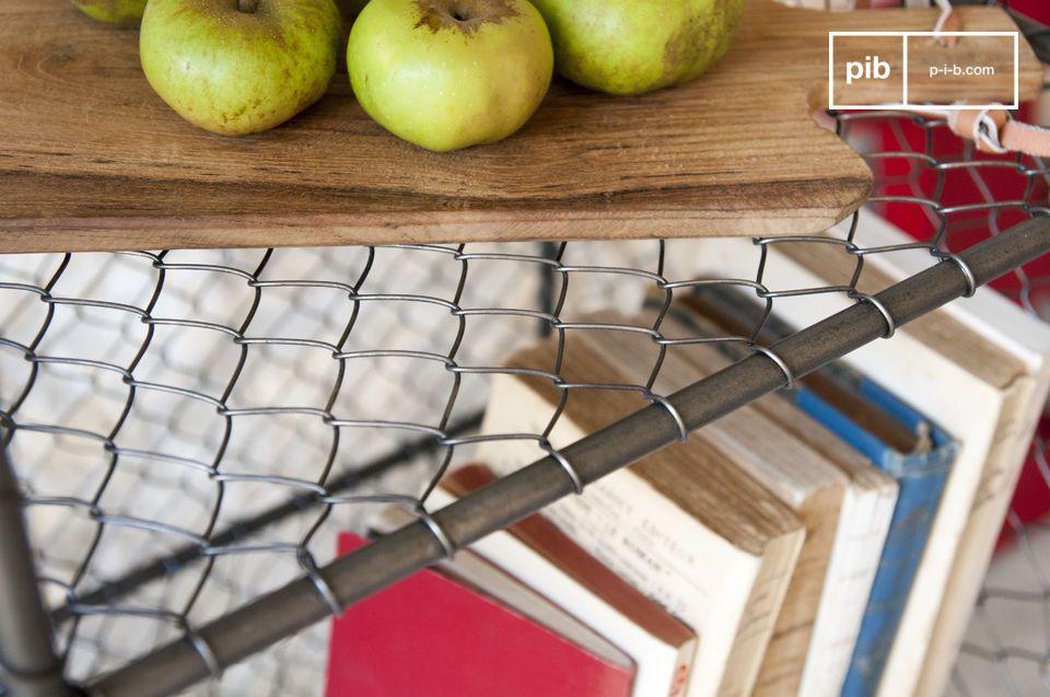 De Ontario boekenkast is volledig gemaakt van metaal