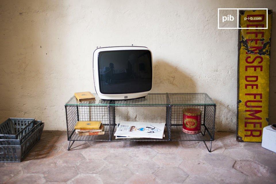 Een origineel meubelstuk van metaal met een vintage twist
