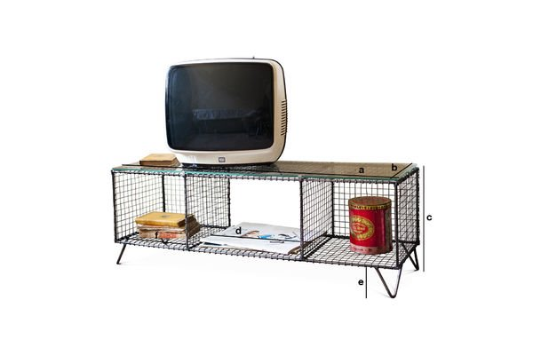 Productafmetingen Ontario tv-meubel