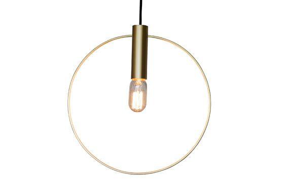 Oohalt Grote gouden hanglamp Productfoto