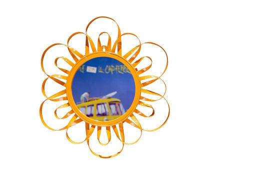 Oranje Aurinko spiegel Productfoto