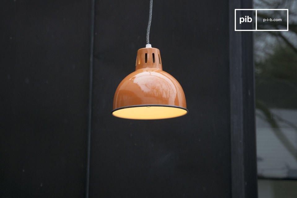 Oranje hanglamp Snöl