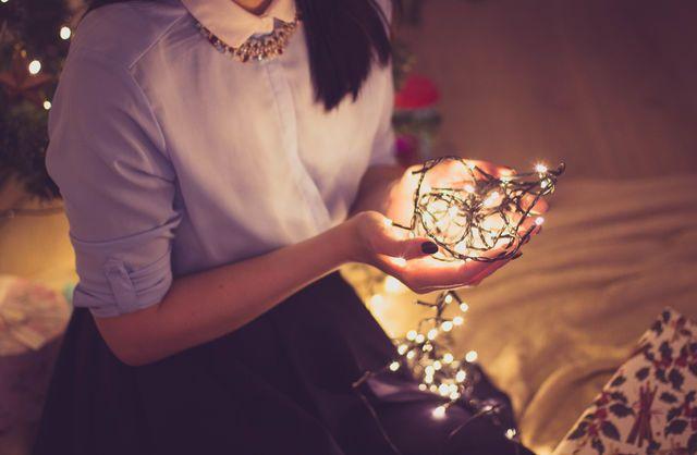 Originele kerst verlichting