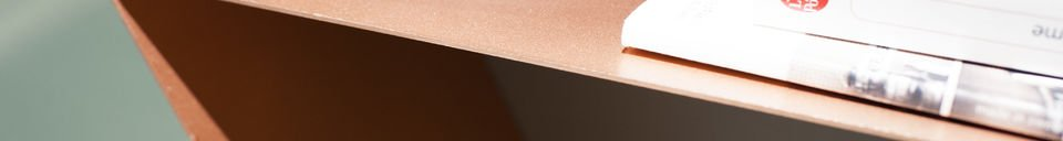 Benadrukte materialen Ozo wandplank