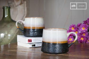 Paar grote Ceramix mokken