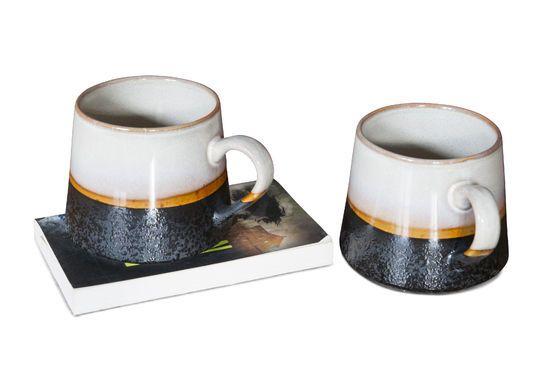 Paar grote Ceramix mokken Productfoto
