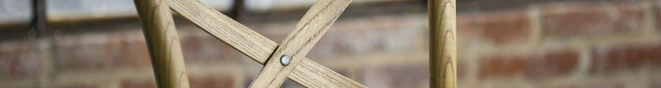 Benadrukte materialen Pampelune barstoel