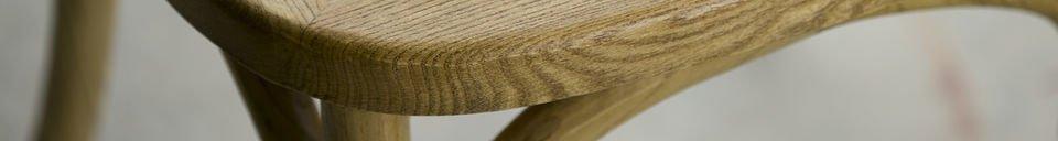 Benadrukte materialen Pampelune stoel