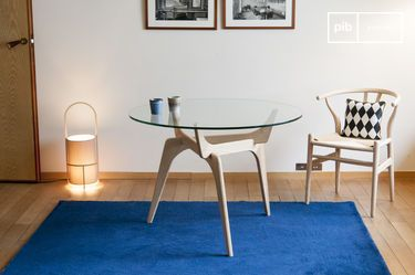 Parkano glazen ronde tafel