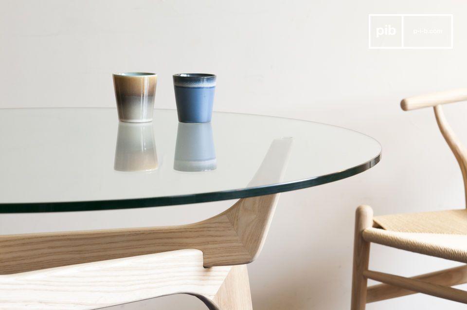 Ronde Glas Tafel.Parkano Glazen Ronde Tafel Optimaliseert Ruimte Met Stijl Pib
