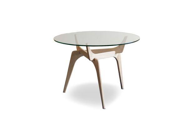 Parkano glazen ronde tafel Productfoto