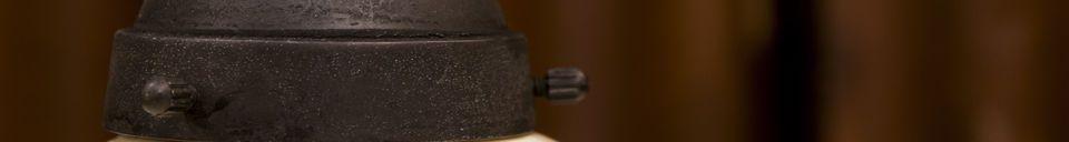 Benadrukte materialen Pornic keramische hanglamp