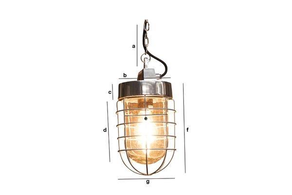Productafmetingen Prestine hanglamp