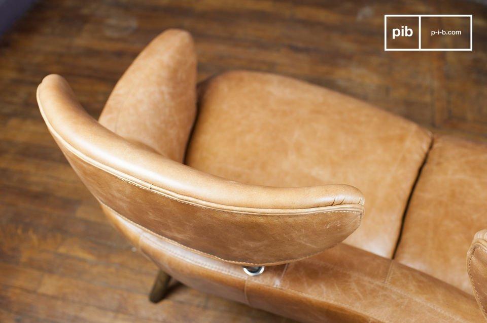 De Queen double fauteuil is ongetwijfeld een uniek meubelstuk die je niet koud zal laten