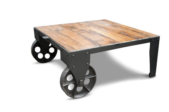 Railroad cart salontafel Productfoto